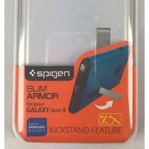 Samsung Galaxy Note 4 Slim Armor Case White